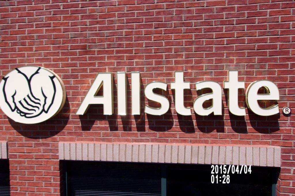 allstate - local sign company and business sign maker with led conversion in nashville - Joslin Sons Signs
