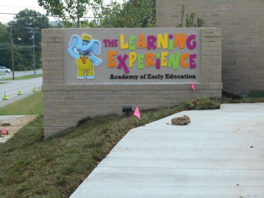 School sign for early education from business sign makers Nashville