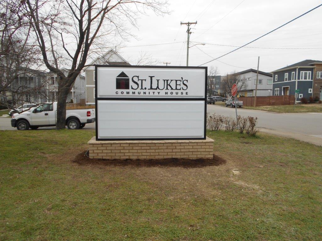 Community sign from Joslin Signs in Nashville TN