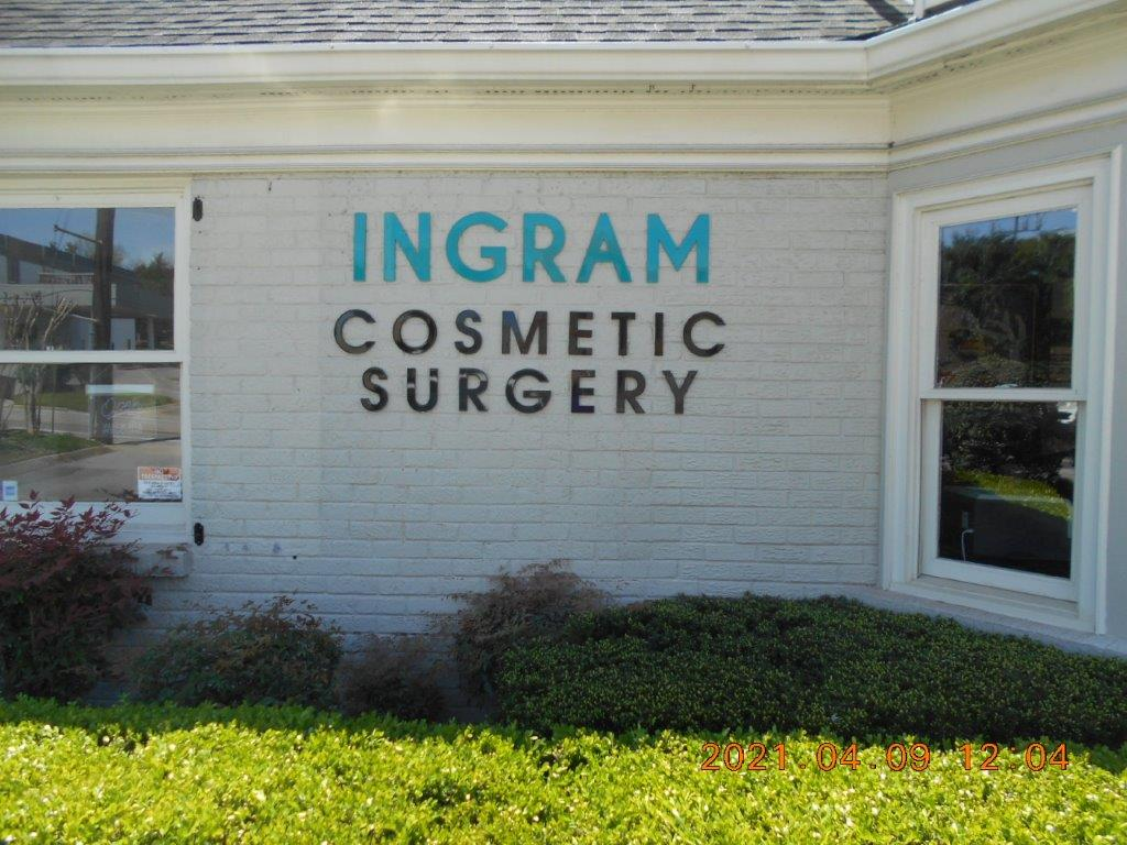 cosmetic surgery healthcare sign - local sign company and business sign maker with led conversion in nashville - Joslin Sons Signs