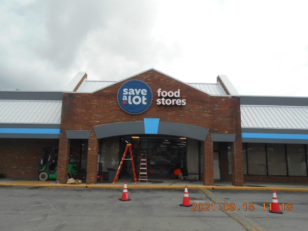 food service sign - local sign company and business sign maker with led conversion in nashville - Joslin Sons Signs