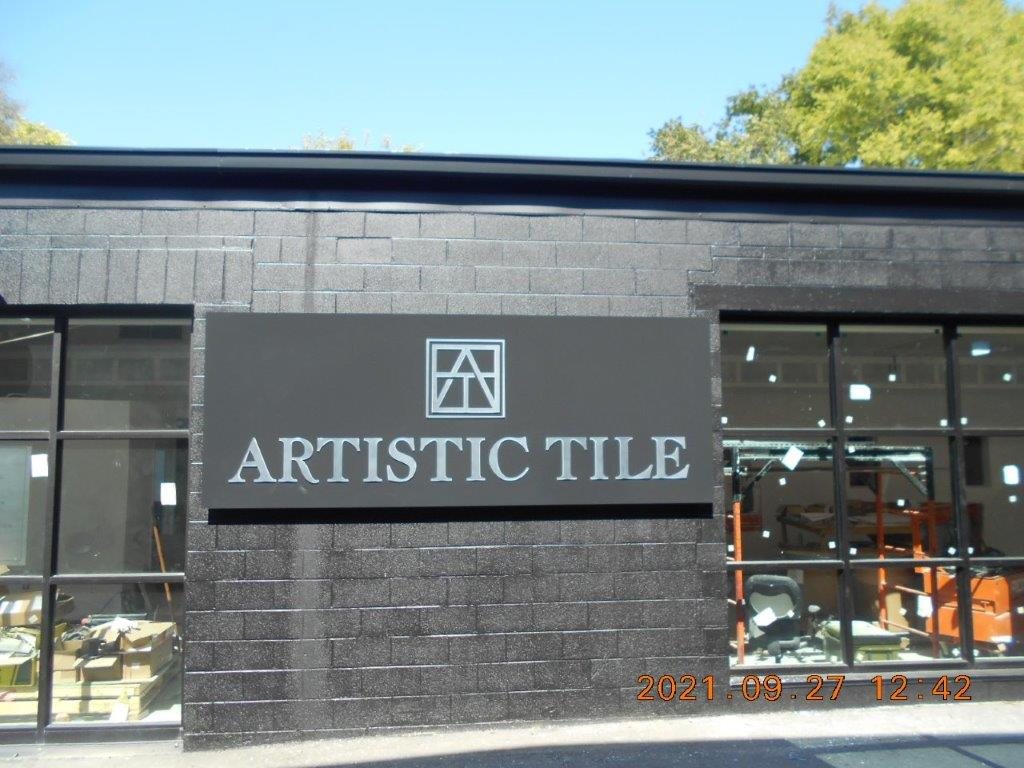 new sign installation - local sign company and business sign maker with led conversion in nashville - Joslin Sons Signs
