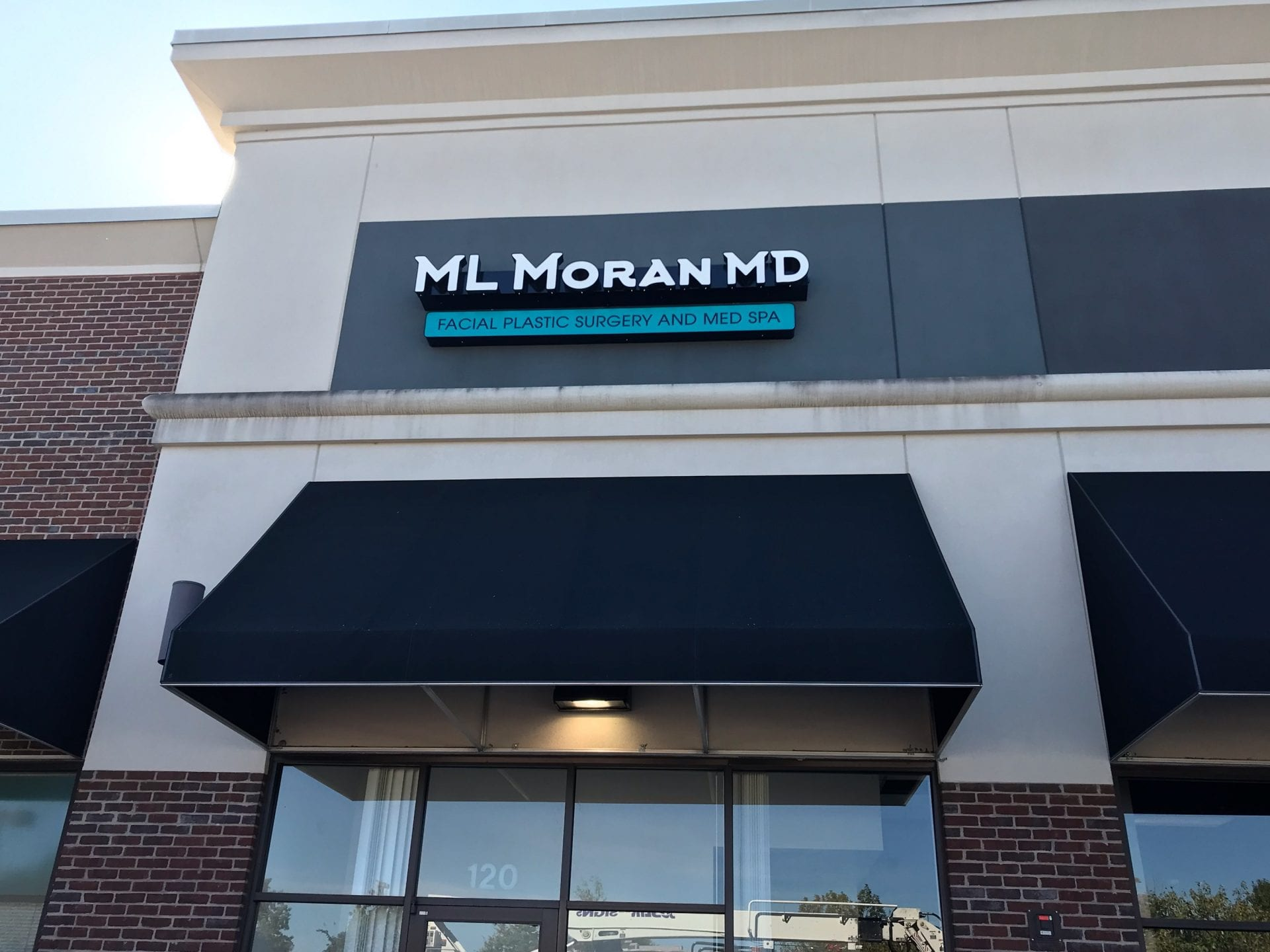 Business sign with led conversion from Joslin Son Signs Nashville