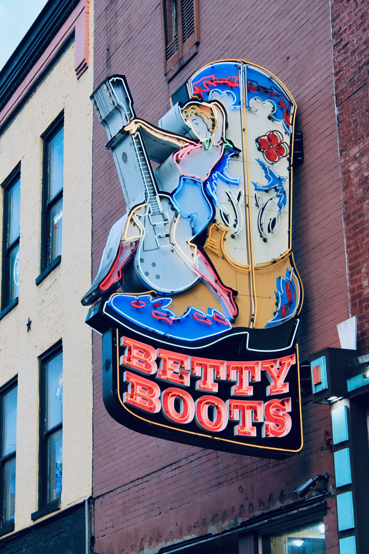betty boots led sign with led conversion in Nashville