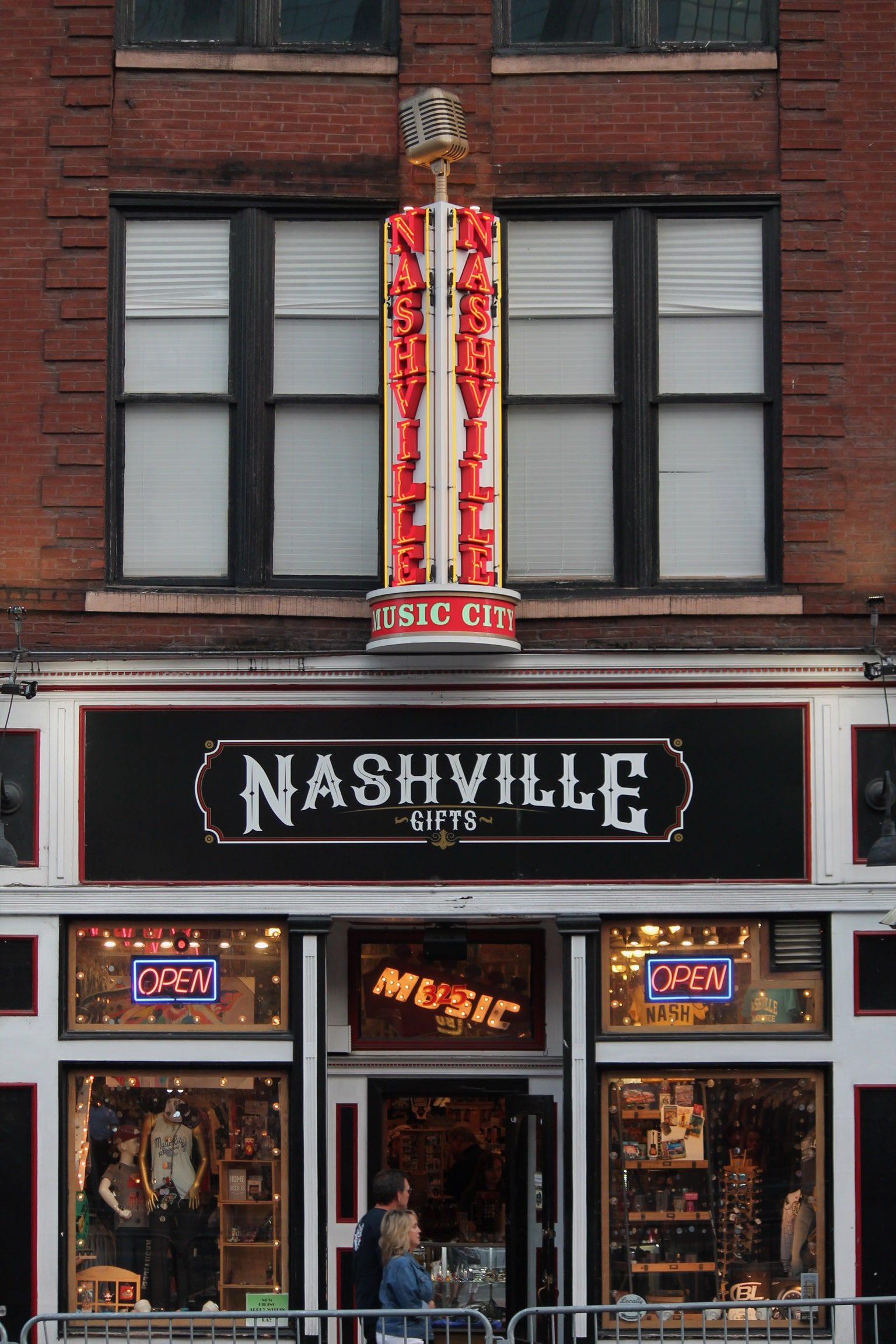 entertainment sign in Nashville with led conversion