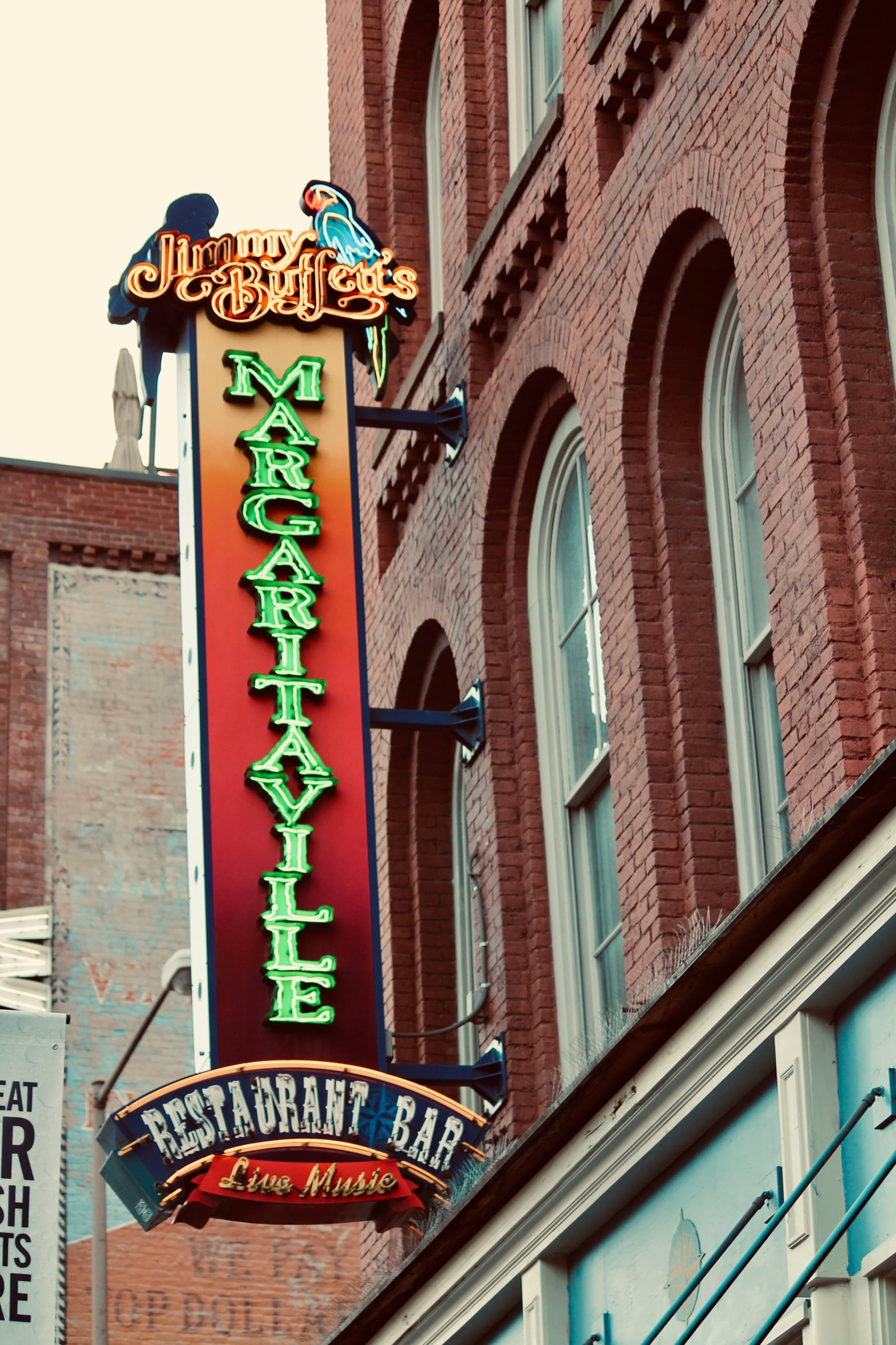 restaurant sign from Joslin and Son Signs with led conversion in Nashville