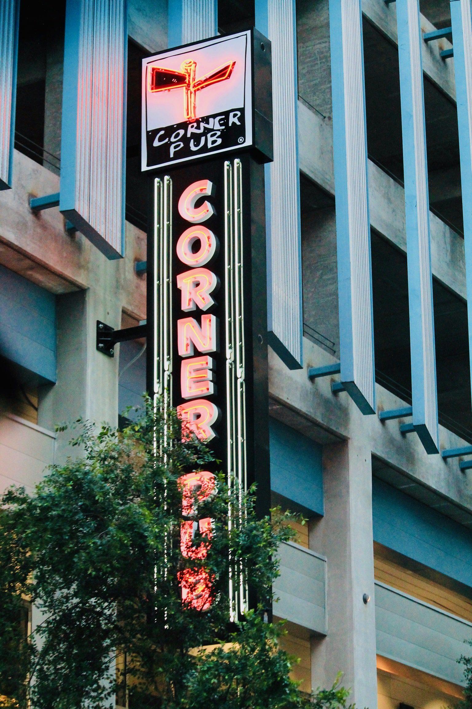 led restaurant sign in Nashville with led conversion