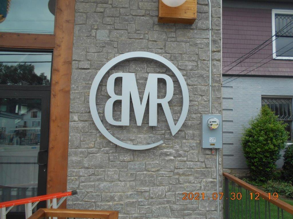 bmr sign - local sign company and business sign maker with led conversion in nashville - Joslin Sons Signs