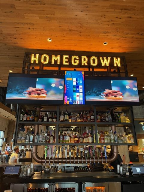 homegrown rotated - local sign company and business sign maker with led conversion in nashville - Joslin Sons Signs