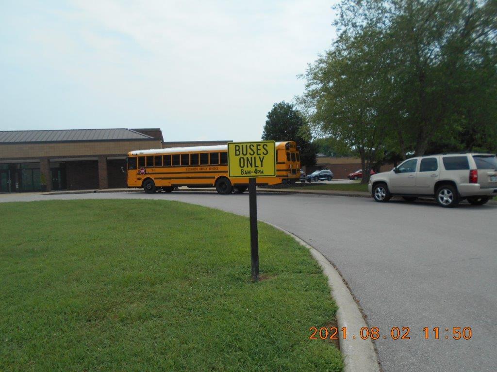 school bus sign in Nashville