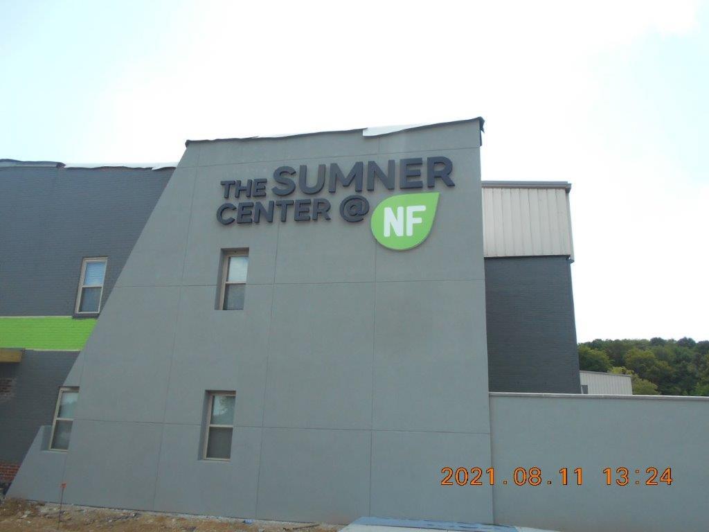 sumner center high rise sign in Nashville